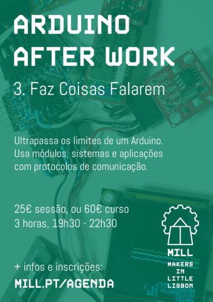 Arduino After Work: Faz Coisas Falarem