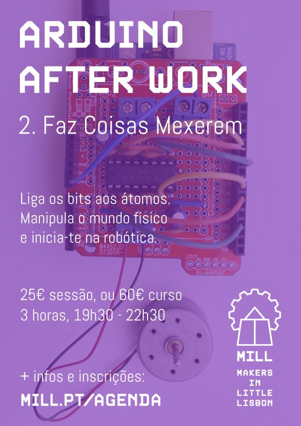 Arduino After Work - Faz Coisas Mexerem
