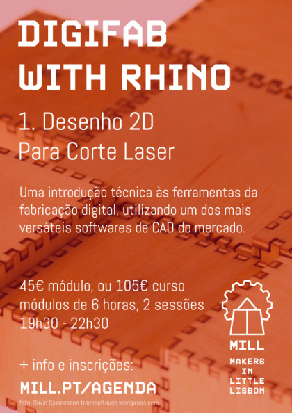 DigiFab with Rhino: Desenho 2D para Corte Laser