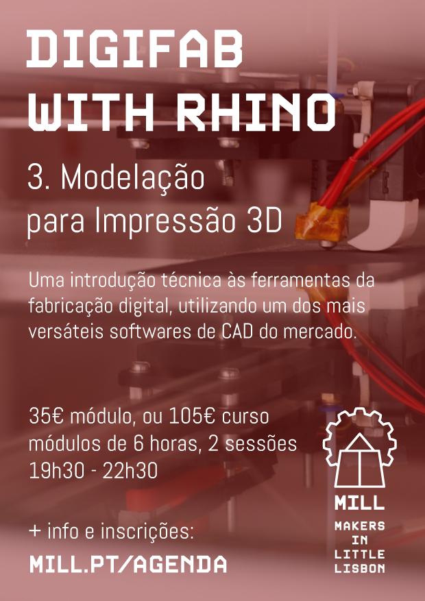 DigiFab with Rhino - Impressao 3D