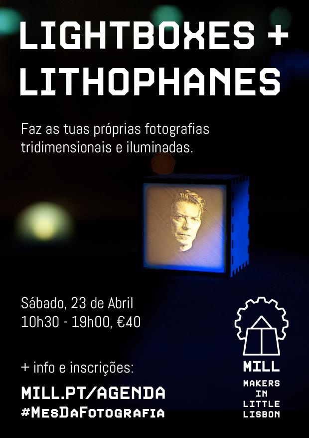 Workshop Lightboxes + Lithophanes