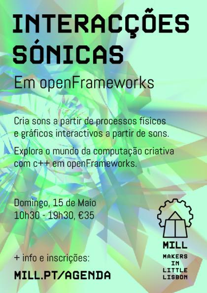 Interacções Sónicas em openFrameworks