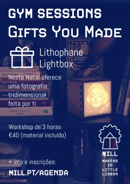 GYM Sessions: Lithophane Lightbox