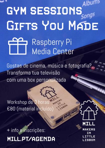 GYM Sessions: Raspberry Pi Media Center