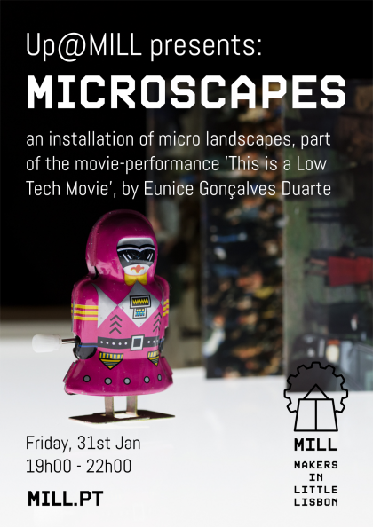Up@MILL Presents MICROSCAPES