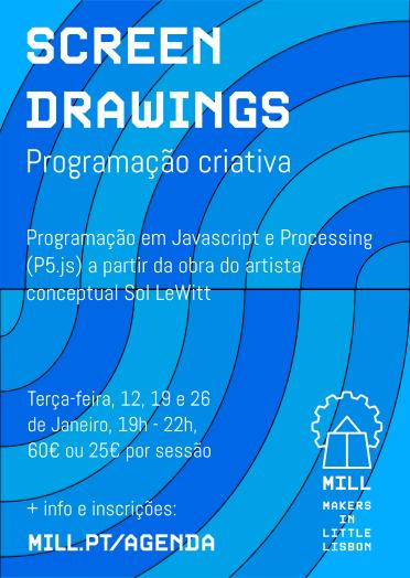 Programação criativa com P5.js/ Processing - Curso COMPLETO (3 sessões)