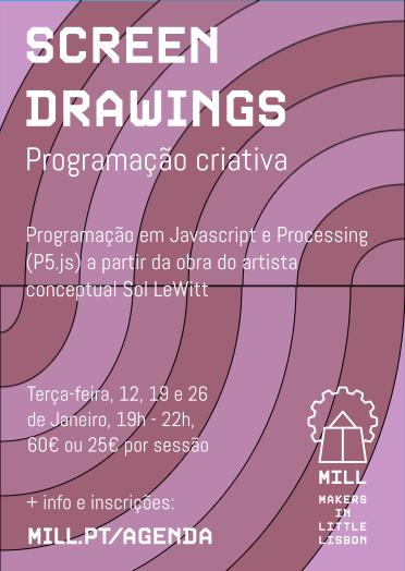 Programação criativa com P5.js/ Processing - Sessão 1