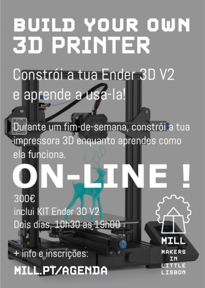 Build Your Own 3D Printer  ON-LINE SESSION !
